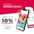 Código Office Depot de 10% de descuento adicional en la app