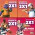Promociones Chuck E. Cheese's Mes del Niño: 2×1 en juegos, pizza o tickets
