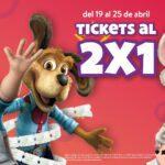 Promociones Chuck E. Cheese's Mes del Niño: 2x1 en juegos, pizza o tickets