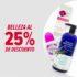 Venta de Belleza GNC: 25% de descuento en cremas, shampoos, etc.