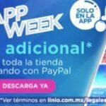 Linio App Week: 10% de descuento adicional con Paypal y más