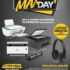 Max Day de Office Max: audífonos Gratis en la compra de una impresora