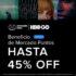 Promoción Mercado Libre HBO GO: hasta 45% de descuento con Mercado Puntos