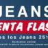 Venta Flash Quarry Jeans: 25% de descuento en todos los pantalones de mezclilla