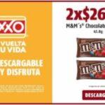 Nuevos cupones Oxxo de 2x1 y 3x2 en M&Ms