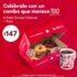 Promoción Tim Hortons Día del Maestro:  6 pack de Donas Clásicas + Taza edición especial a $147