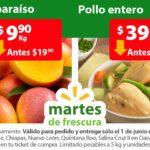 Ofertas Martes de Frescura Walmart 1 de junio 2021