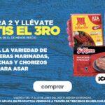 3x2 en arracheras, salchichas y chorizos para asar y 2x1½ en salsas y guacamoles en HEB
