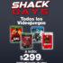 En RadioShack todos los videojuegos a $299 (excepto FIFA 21 en $499)