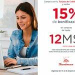 Promoción Banorte: 15% de bonificación en compras a 12 msi en tiendas participantes