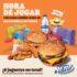Juguetes Nerf Gratis en el Combo King Jr. de Burger King
