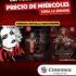 Promoción Cinemex Verano 2021: Funciones a precio de miércoles de lunes a domingo