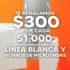 Temporada Naranja 2021: $300 de descuento por cada $1,000 de compra en línea blanca y hornos de microondas