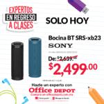 Ofertas del Día Office Depot 21 de julio: Silla ejecutiva de $1,849 a $1,201 y más