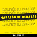Maratón de Rebajas Forever 21: Prendas desde $99.99