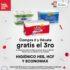 Ofertas HEB Week del 28 de julio al 4 de agosto: 2×1 en productos, 3×2 en papel higiénico y muchas ofertas más