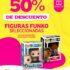 Julio Regalado 2021: 50% de descuento en figuras Funko