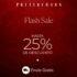 Flash Sale en Pottery Barn, west elm y Williams Sonoma: Hasta 25% de descuento + envío gratis