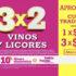 Julio Regalado 2021: 3×2 en vinos y licores