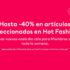 H&M Hot Fashion 2021: hasta 40% de descuento en ropa, calzado y accesorios