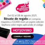 Sephora Hot Fashion 2021: hasta 50% de descuento + 12 msi + regalos