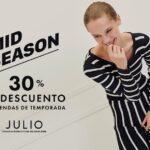 Mid Season Sale Julio: 30% de descuento en prendas de temporada