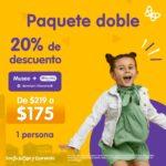 Promociones Papalote Museo Del Niño: Hasta 20% de descuento en paquetes al comprar los boletos en línea