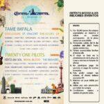 Boletos gratis al Corona Capital 2021 con tus compras en Plazas participantes