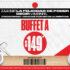Cupón Sirloin Stockade buffet a $149 en la compra de bebida refill durante octubre